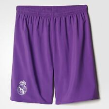 Calcio Football Pantaloncini Shorts adidas 2016/2017 Real Madrid Away Purple Large