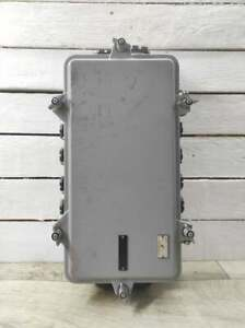 """15"""" * 8"""" Vintage Wall Mounted Industrial Electrical Junction Box With 16 outputs"""