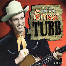 Texas Troubadour [Box Set] [Box] by Ernest Tubb (CD, Mar-2003, 4 Discs, Proper R