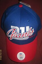 NY Giants Red & Blue Cap Official NFL Team Apparel Merchandise Hat New One Size