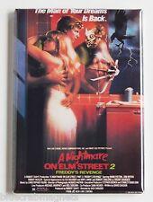 Nightmare on Elm Street 2 FRIDGE MAGNET (2 x 3 inches) movie poster revenge