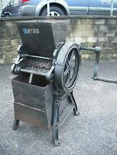 Antique Royal Navy Coal - Coke Crusher,Hand Driven, W N Nicholson & Sons Ltd