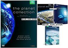 FROZEN PLANET + THE BLUE PLANET + PLANET EARTH - David Attenborough - NEW DVD UK