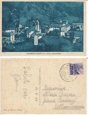 Cartolina d'epoca  VALPRATO SOANA - TORINO - PANORAMA
