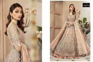 PAKISTANI SUIT SHARARA PLAZZO  SALWAR KAMEEZ ETHNIC ANARKALI INDIAN BRIDAL DRESS