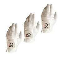 Mens Golf Gloves LH For RH Golfer Microfiber RelaxGrip Weathersof 3 Pack US Ship