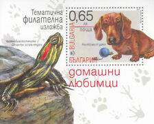Bulgaria MNH 2015 Dog Turtle Special  Souvenir Sheet  Rare Only a few Issued