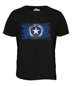Nördlich Mariana Inseln Distressed Flagge Herren T-Shirt Top Hemd Geschenk