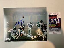 Randall Cunningham Autograph Signed Eagles Fog Bowl 8x10 Photo JSA