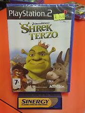 SHREK TERZO - playstation 2 SONY, dream works - nuovo italiano sigillato origina
