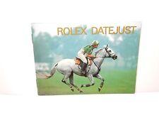 Rolex watch Booklet Datejust 1995