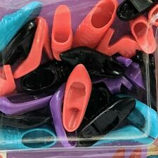 1995 Barbie Ken Doll Pumps Sneakers Red Black Purple Shoes Little Extras 12 Pair