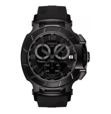 Tissot T-Race Mens Chronograph Swiss Quartz Black Watch T048.417.37.057.00