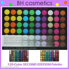 NEW BH Cosmetics 120 SECOND EDITION Eye Shadow Palette-FREE SHIPPING 2nd Two