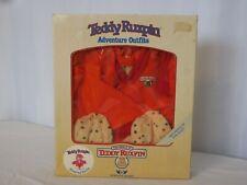 Teddy Ruxpin World of Wonders sleeping outfit In Box Nightcap Robe Pajamas 1985