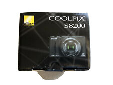 Nikon COOLPIX S8200 16.1MP Digital Camera - Black (S8200)