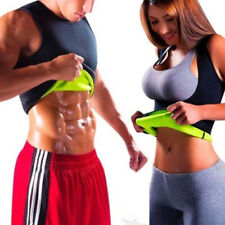 Mens Neoprene Slimming Vest Cami Hot Gym Womens Body Sauna Sweat Thermal Shaper