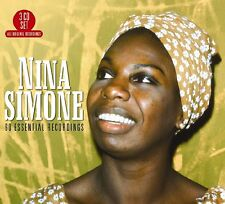 NINA SIMONE - 60 ESSENTIAL RECORDINGS - NEW CD COMPILATION