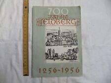 Broschüre , 700 Jahre Feldberg Meckl. , 1956