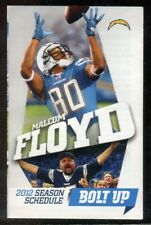 Schedule Football San Diego Chargers - 2012 - Coors Light Ladanian Tomlinson