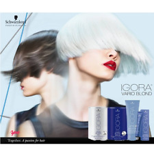 schwarzkopf igora vario blond plus super powder fibre bond lightener cool lift