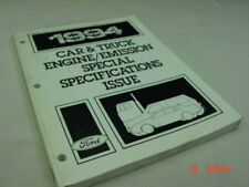 Vintage Ford 1994 Car Truck Engine Emissions Diagnostic Special Specs Issue