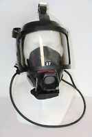 S- Full Face Mask QS II interspiro Black rubber airsoft, funy gift, masquerade