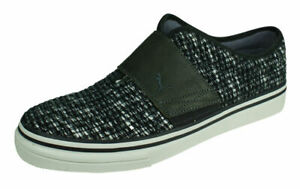 PUMA El Rey Tweed Men's Casual Trainers Slip On Shoes Grey Black UK Size 6.5