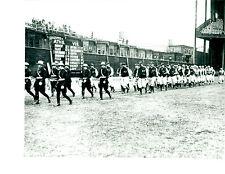 1930 8X10 PHOTO YANKEES ATHLETICS PARADE RUTH FOXX GEHRIG  BASEBALL HOF