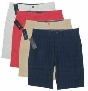 NEW Men's Tommy Hilfiger Flat Front Shorts Classic Fit Comfort 100% Cotton Chino