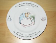 Beatrix Potter Peter Rabbit Wedgwood Collectors Plate ~ Made in England 1991
