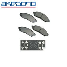 For Nissan Frontier Xterra Disc Brake Pad Set Front 4.0L V6 Akebono ACT1094