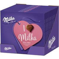 I Love Milka Pralinés Erdbeercrème 10x 110g Pg.