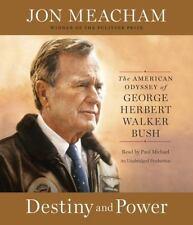 Destiny and Power American Odyssey of George Bush by Jon Meachan Audio CD Set NE