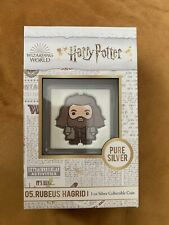 More details for rubeus hagrid silver chibi coin