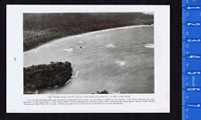 Spirit of St. Louis Flying Over Fort Lorenzo - LINDBERGH-- 1928 Page of History