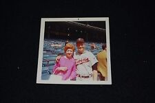 """1960's Dave Boswell Minnesota Twins Autographed Kodax 3.5 x 3.5"""" Color Photo"""