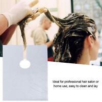 50 Stück Einweg-Haarschnittschürze Haarfärbemittel Friseur Friseur Cape