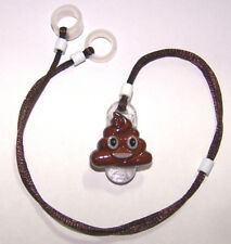 Childs 2 sided Hearing Aids safety Leash loss RETAINER CORD CLIP ..... POOP