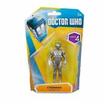 Doctor Who WAVE 4 - CYBERMAN With ARM GUN  Figure - Dr- NEW