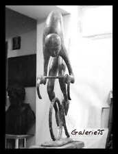 "©PIERLUIGI, ""THE CYCLIST "" DE NICOLA MORELLI , 3 PHOTOGRAPHIES, ROME 1960,"