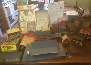 11 Model Railway Buildings Inc. Hornby OO Dunster Station, Kits, Tunnels, Etc.
