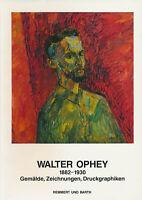 Remmert - Barth (Hrsg.): Walter Ophey. 1882-1930. Gemälde, Zeichnungen (1990).