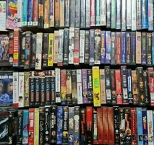 Variety of VHS Tapes to Pick From Classics Retro Collection Videos Movies