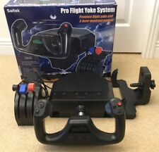 Boxed Saitek Pro Flight Simulator Yoke System & 3 lever Throttle Quandrant PZ44