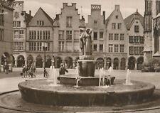 AK - Münster in Westfalen. Lambertusbrunnen