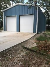 24'x36'x10' Steel Garage/Workshop Building Kit Excel Metal Building Systems Inc