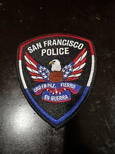 San Francisco Police California USA Patch