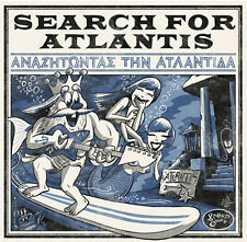 CD - Various - Search For Atlantis, 2014, greek surf bands, Green Cookie records
