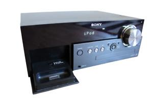 SONY HCD-MX500i Micro Hi-Fi, CD Player & IPod Dock ,AUX INPUTS Component Player